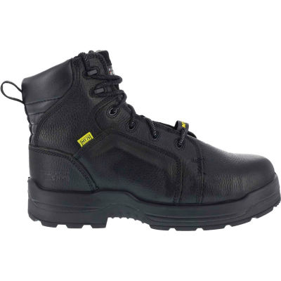 """Rockport® RK6465 Men's More Energy 6"""" Lace To Toe Internal Met Guard Boot, Black, Size 9 M"""