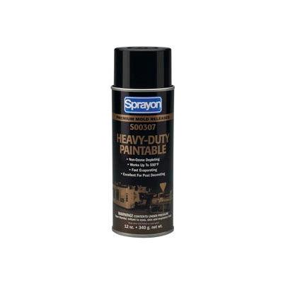 Sprayon MR307 Heavy Duty Paintable Release Agent, 12 oz. Aerosol Can - s00307000 - Pkg Qty 12
