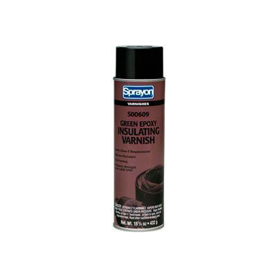 Krylon S00609 El609 Green Insulating Varnish - 15.25 Oz - Pkg Qty 12