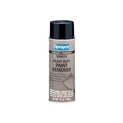 Sprayon SP915 Heavy Duty Paint Remover, 15 oz. Aerosol Can - SC0615000 - Pkg Qty 12