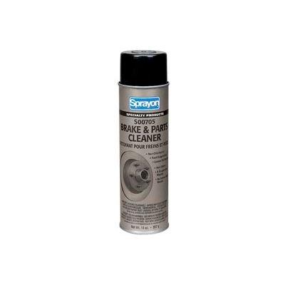 Sprayon SP705 Non-Chlorinated Brake & Parts Cleaner, 14 oz. Aerosol Can - SC0705000 - Pkg Qty 12