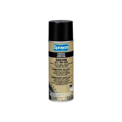 Sprayon LU708 High Performance Dry Lubricant, 10 oz. Aerosol Can - SC0708000 - Pkg Qty 12