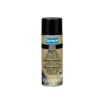 Sprayon LU727 High-Performance Wet Lubricant, 9.25 oz. Aerosol Can - SC0727000 - Pkg Qty 12