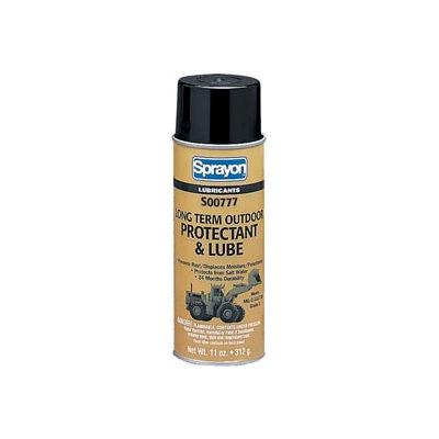 Sprayon LU777 Outdoor Metal Protectant, 11 oz. Aerosol Can - s00777000 - Pkg Qty 12