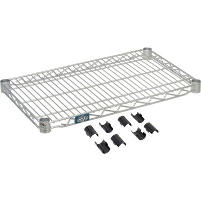 "Nexel® S1424EP Nexelate® Wire Shelf 24""W x 14""D"