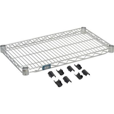 "Nexel® S1430EP Nexelate® Wire Shelf 30""W x 14""D"