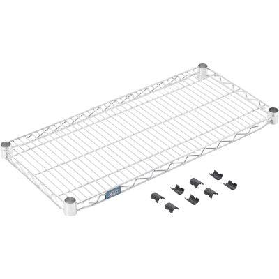 """Standard Wire Shelf, Stainless Steel, 14""""W x 30""""L"""