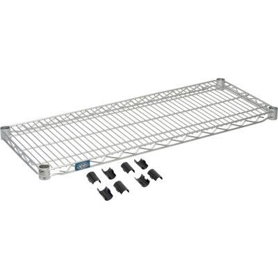 "Nexel® S1436EP Nexelate™ Wire Shelf 36""W x 14""D"