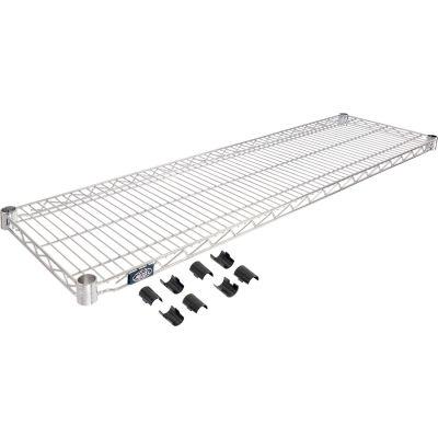 """Nexel® S1448C Chrome Wire Shelf 48""""W x 14""""D"""