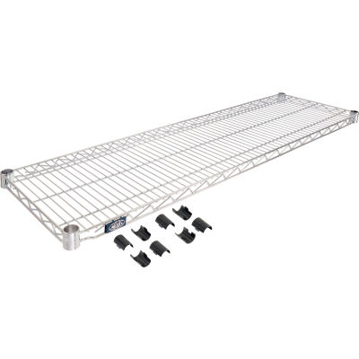 "Nexel® S1454C Chrome Wire Shelf 54""W x 14""D"