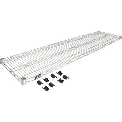 """Nexel® S1460C Chrome Wire Shelf 60""""W x 14""""D"""