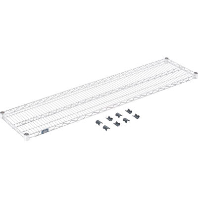 """Standard Wire Shelf, Stainless Steel, 14""""W x 60""""L"""
