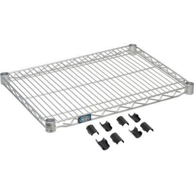 "Nexel® S1830EP Nexelate® Wire Shelf 30""W x 18""D"