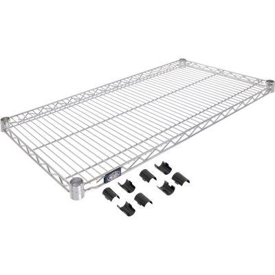 """Nexel® S1842C Chrome Wire Shelf 42""""W x 18""""D"""