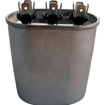 Supco® CD25+5X370, 25 + 5MFD, 370V, Run Capacitor, Oval