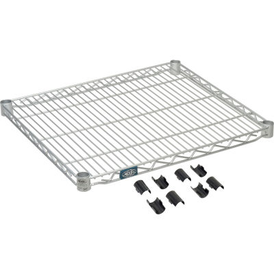 "Nexel® S2124EP Nexelate® Wire Shelf 24""W x 21""D"