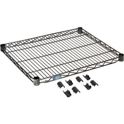 """Nexel® S2130B Black Epoxy Wire Shelf 30""""W x 21""""D"""