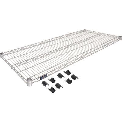 """Nexel® S2154C Chrome Wire Shelf 54""""W x 21""""D"""