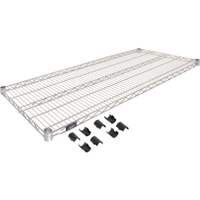 "Nexel® S2154C Chrome Wire Shelf 54""W x 21""D"