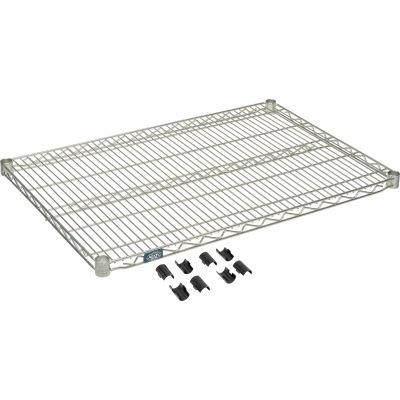 """Nexel® S2436Z Poly-Z-Brite® Wire Shelf 36""""W x 24""""D"""