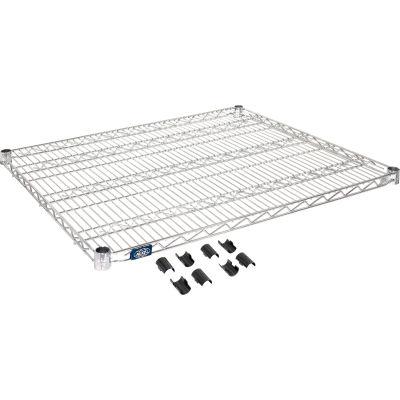 """Nexel® S3036C Chrome Wire Shelf 36""""W x 30""""D"""