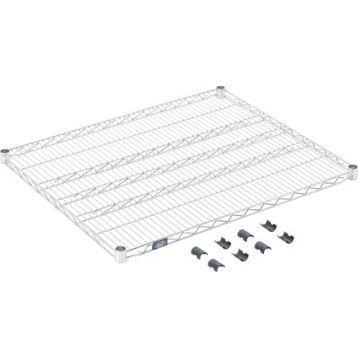 """Standard Wire Shelf, Stainless Steel, 30""""W x 36""""L"""
