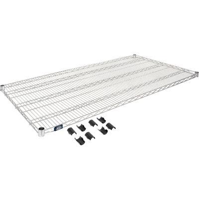 """Nexel® S3060C Chrome Wire Shelf 60""""W x 30""""D"""