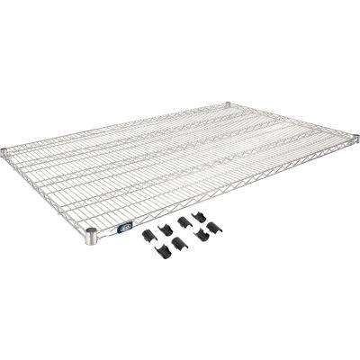 """Nexel® S3660C Chrome Wire Shelf 60""""W x 36""""D"""