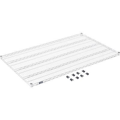 """Standard Wire Shelf, Stainless Steel, 36""""W x 60""""L"""