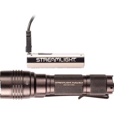 Streamlight® 88084 ProTac® HL-X USB Battery, USB Cord & Holster