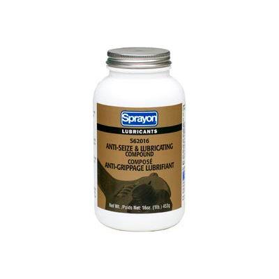Sprayon LU620 Anti-Seize Compound, 16 oz. Brush Top Canister - SC0620TB0 - Pkg Qty 12