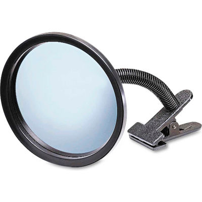 """See All® Portable Convex Security Mirror, 7"""" Diameter, 160° View Angle"""