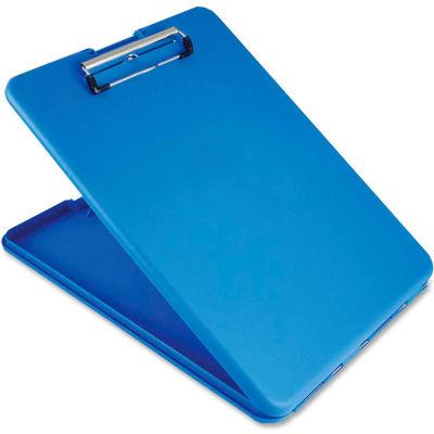 "Saunders SlimMate Clipboard 9-3/8"" x 13-1/2"" Blue"
