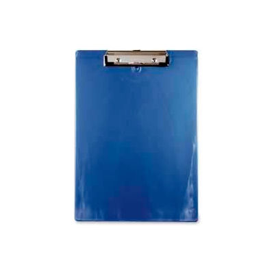 """Saunders Recycled Plastic Clipboard with Low Profile Clip, 8-1/2"""" x 11"""", Ice Blue"""