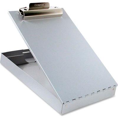 """Saunders Redi-Rite Aluminum Storage Clipboard, 8-1/2"""" x 12"""", Silver"""