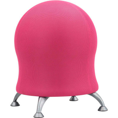 Chairs Mesh Safco 174 Zenergy Ball Chair Pink