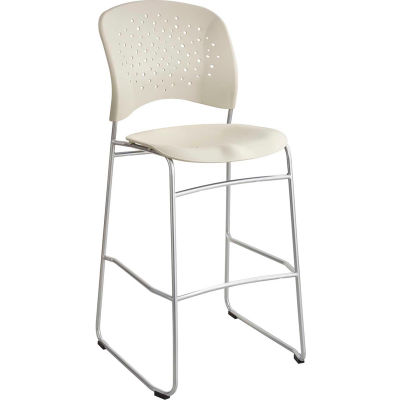 Safco® Reve™ Bistro Height Chair with Round Back - Latte