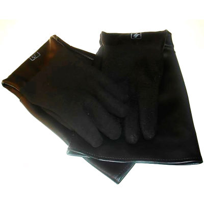 ALC 40248 Cloth Lined Blast Gloves, Rubber