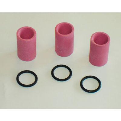 Allsource 41912 7Mm Ceramic Nozzle Kit / 3 Nozzles & Orings