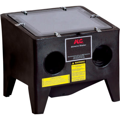 """ALC 42389 Bench Top Cabinet, 20""""W x 22""""D x 24""""H, 80-110 PSI Polyethylene, With Free Beads"""