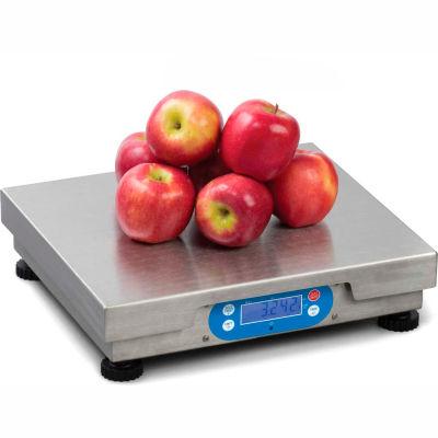 "Brecknell 6720U Point of Sale Digital Scale 30lb x 0.01lb With Internal Display, 12"" x 14"" Platform"