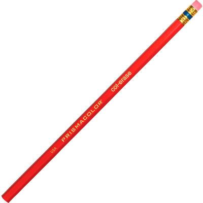 Prismacolor Col-Erase Pencils, Red Lead, Carmine Red Barrel
