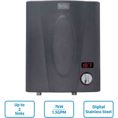 Black+Decker 7kW 1.5 GPM Electric Tankless Water Heater