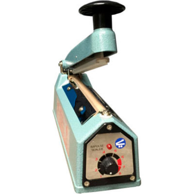 "Sealer Sales KF-Series 8"" Hand Sealer w/ 2mm Seal Width, Blue"
