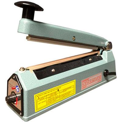"Sealer Sales KF-500HC 20"" Hand Sealer w/ 2.7mm Seal Width w/ Sliding Cutter"