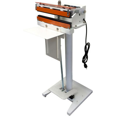 """Sealer Sales 12"""" Meshed Seal Direct Heat Sealer w/ 15mm Seal, Foot Operated"""