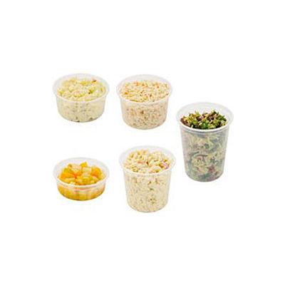 DART® MicroGourmet® SCCMN16,  Plastic Food Containers, 500/Case