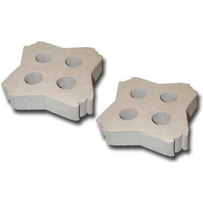 GENIE® 503-0280-00 29-37mm Tube Foam Inserts, Pack of 2