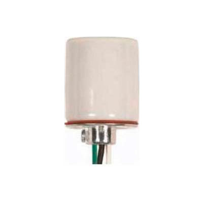 Satco 80-1202 Keyless Unglazed Porcelain Socket 1/8 IP Cap w/Set Screw