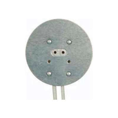 "Satco 80-1668 Round Halogen Socket w/8-in. Leads, 1.75"" Diameter"